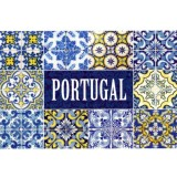 POR-Cartão Postal, (Mint), nº 161865, Portugal Art. Edition, Lisboa, Azulejos Portuguese Tiles Artwork, Foto: Homydesign.