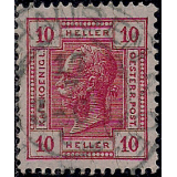 AUS Selo, Definitivo/Regular, 1901, (N), Emperor Franz Josef I, 1830-1916 - With Varnish Bars.