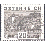 AUS Selo, Definitivo/Regular, 1932, (N), Yt:AT 382, Landscapes, Dürnstein, Lower Austria - large format.