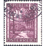 AUS Selo, Definitivo/Regular, 1945, (N), Landscapes, Dürnstein.
