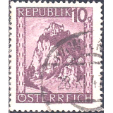 AUS Selo, Definitivo/Regular, 1945, (U), Yt:AT 608, Definitives - Landscapes, Hochosterwitz (Carinthia).