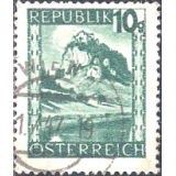 AUS Selo, Definitivo/Regular, 1945, (U), Yt:AT 607, Definitives - Landscapes, Hochosterwitz (Carinthia).