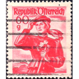 AUS Selo, Definitivo/Regular, 1958, (N), Yt:AT 889, National Costumes, Carinthia, Lavanttal.