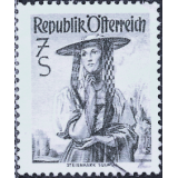 AUS Selo, Definitivo/Regular, 1959, (N), Yt:AT 900A, National Costumes, Styria, Sulmtal.