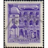 AUS Selo, 1960, (N), Yt:AT 873AE, Republik Osterreich, Architectural Monuments in Austria (State parliament house, Graz).