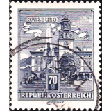 AUS Selo, Definitivo/Regular, 1962, (N), Yt:AT 953B, Republik Osterreich, Architectural Monuments in Austria (State parliament house, Graz).