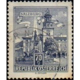 AUS Selo, 1962, (N), Yt:AT 953B, Republik Osterreich, Architectural Monuments in Austria (State parliament house, Graz).