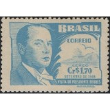 Br-Selo, (Aéreo), 1948, A-68-RHM, (Mint), Visita do Presidente Battle Berres do Uruguai.