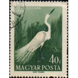 HUN Selo, 1959, (N), Yt:HU 1290, Water Birds, Great Egret (Ardea alba).