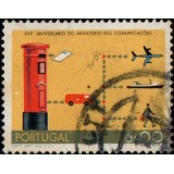 POR Selo, 1973, (U), Yt:PT 1191, The 25th Anniversary of the Ministry of Communications (Mail Transport).