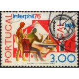POR Selo, 1976, (U), Yt:PT 1293, The International Stamp Exhibition in Philadelphia.