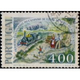 POR Selo, 1977, (U), Yt:PT 1356, The 100th Anniversary of the Opening of the North-South Railroad.