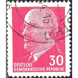 GER (RDA) Selo, 1963, (N), Walter Ulbricht - New Values.