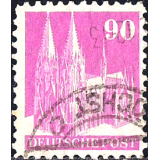 GER (BRD) Selo, 1949, (N), Cologne Cathedral.