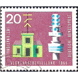 GER (BRD) Selo, 1965, (N), Yt:DE 343, International Traffic Exhibition.