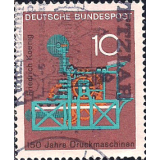GER (BRD) Selo, 1968, (N), Yt:DE 411, Technic and Science, oenig printing press.