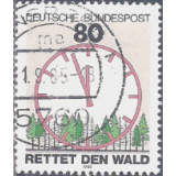 GER (BRD) Selo, 1985, (N), Yt:DE 1085, Protection of Nature, Save the Forests.