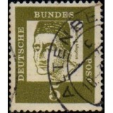 BRD (Alemanha) Selo, 1961, (U), Yt:DE 220c, Famous Germans, Albertus Magnus, (around 1193-1280), bishop and scholar.