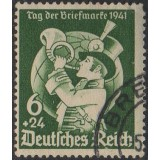 AIM (Alemanha) 1941, (U), Yt:DR 686, Day of the Stamp.