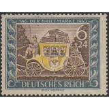 AIM (Alemanha) 1943, (U), Yt:DR 747, Day of the Stamp.
