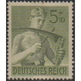AIM (Alemanha) 1943, (U), Yt:DR 770, Day of the Stamp.