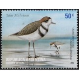 ARG Selo, 2002, (Mint), Yt:AR 2295, Two-banded Plover (Charadrius falklandicus).