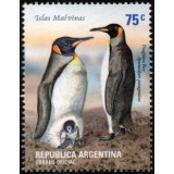 ARG Selo, 2002, (Mint), Falkland island birds (King penguin).