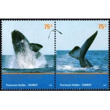 ARG Selo, 2002, (Mint), Mercosur Tourism - Valdes Peninsular, Southern Right whales.