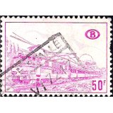 BEL Selo, 1968, (N), Yt:BE CP391, Railway Stamp: Electric locomotive type.