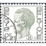 BEL Selo, 1972, (N), Yt:BE 1581A, King Baudouin - New Values.