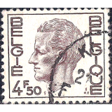 BEL Selo, 1972, (N), Yt:BE 1581C, King Baudouin - New Values.