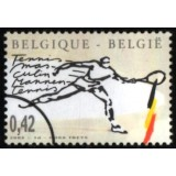 BEL Selo, 2002, (Mint), The 100th Anniversary of the Royal Belgium Tennis Association.