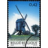 BEL Selo, 2002, (Mint), Portugal-Belgium Joint Issue: Windmill Ilha Do Faial.