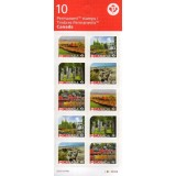 CAN Mini Folha, 2016, (Mint), Booklet Unesco 10, World Heritage Sites in Canada.