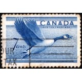 CAN Selo, 1952, (U), Birds - Canada Goose (Ganso do Canadá).