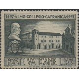 VAT Selo 1957, (U), The 500th Anniversary of the Collegium of Caprianica.