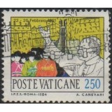 VAT Selo 1984, (U), The World journey of Pope John Paul II.