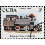 CUB Selo, 1980, (Mint), Yt:CU 2218, Early Locomotives (Locomotoras Antiguas).