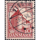 DIN Selo 1954, (N), Yt:DK 356, The 1000th Anniversary of the Kingdom of Denmark Runic Stone at Jelling.
