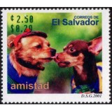 ELS Selo, 2001, (Mint), Amistad - Two Dogs (Animais - Cães).
