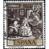 ESP Selo, 1959, (N), Yt:ES 930, Painters - Diego Velázquez, 'Las Meninas' (The Maids of Honour).
