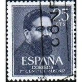ESP Selo, 1960, (N), Yt:ES 997, Birth Centenary - Isaac Albéniz (1860-1909), Spanish pianist and composer.