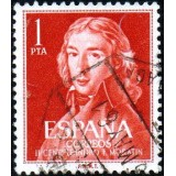 ESP Selo, 1961, (N), Yt:ES 1005, 2nd Birth Centenary of Leandro Fernández de Moratín.