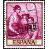ESP Selo, 1965, (U), Yt:ES 1318, Marta and Mary.