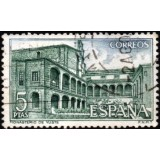 ESP Selo, 1965, (N), Yt:ES 1351, Castles and Abbeys.
