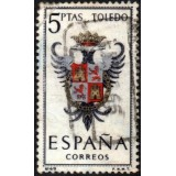 ESP Selo, 1966, (U), Yt:ES 1358, Coats of Arms (Toledo).