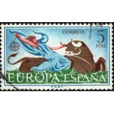 ESP Selo, 1966, (N), Yt:ES 1403, The Rape of Europa.