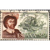 ESP Selo, 1976, (N), Yt:ES 1956, Juan Sebastián Elcano (1476 - 1526), Spanish Basque explorer who completed the first circumnavigation of the globe.