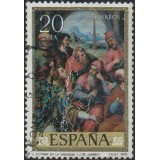 ESP Selo, 1979, (U), Yt:ES 2186, Stª. Stephen in the Synagogue, Juan de Juanes.