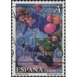 ESP Selo, 2005, (N), Yt:ES 3716, Fosforescente, The Circus: Tonys Brothers.